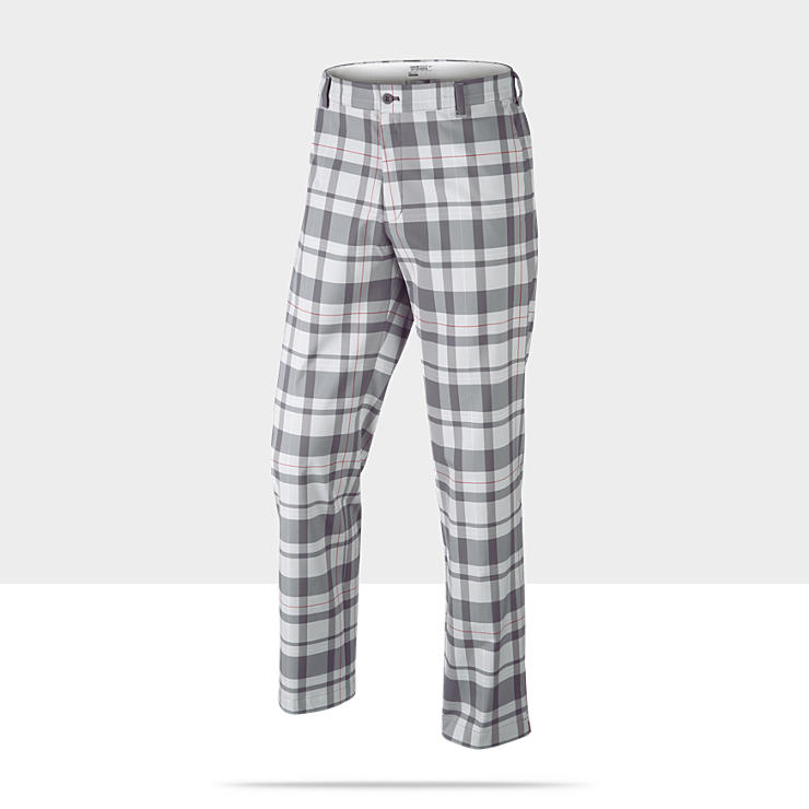 Nike Fashion Plaid Men's Golf Trousers