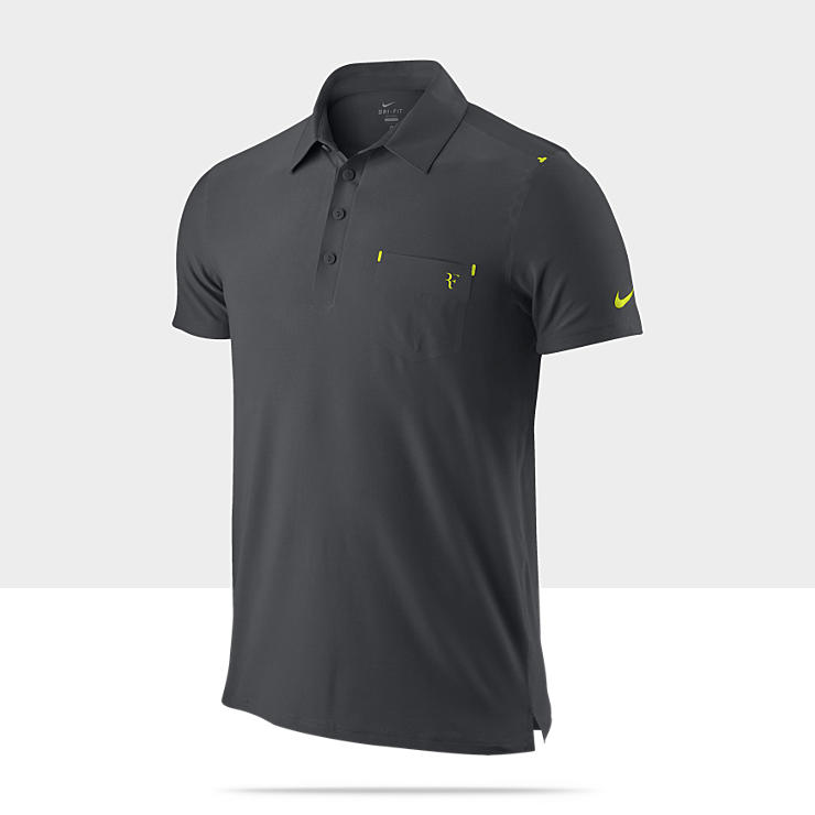 Nike Federer Clay - Polo de tennis pour Homme