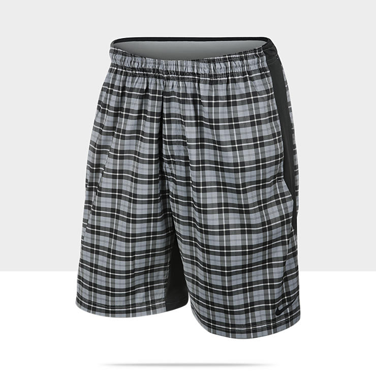 Short de tennis Nike Gladiator Plaid pour Homme