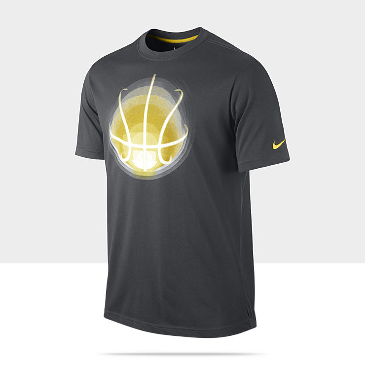 Nike Glow Ball Optic – Tee-shirt de basket-ball pour Homme