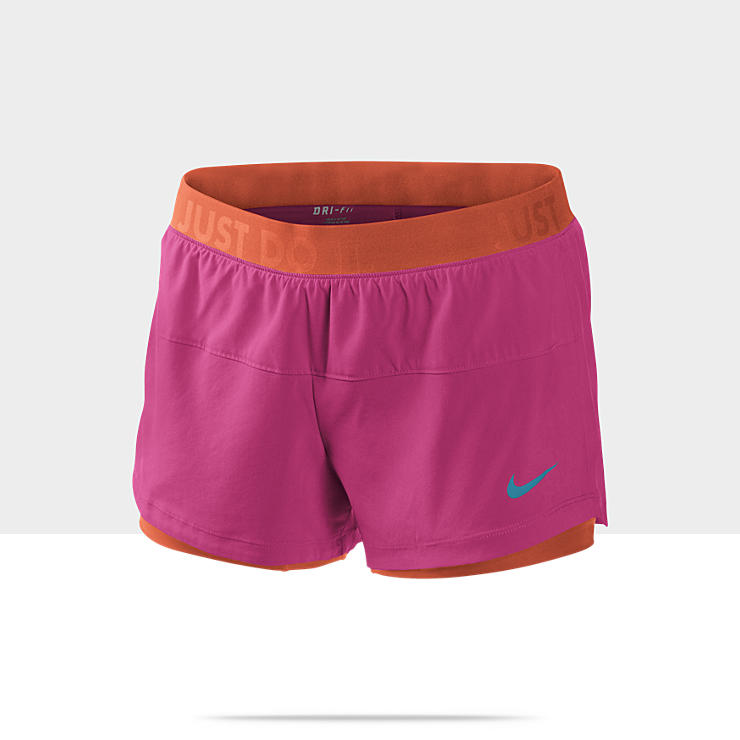 Nike Icon Woven Two-In-One &ndash; Short d'entra&icirc;nement pour Femme