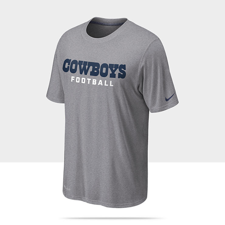 Nike Legend Authentic Font (NFL Cowboys) Camiseta de entrenamiento - Hombre