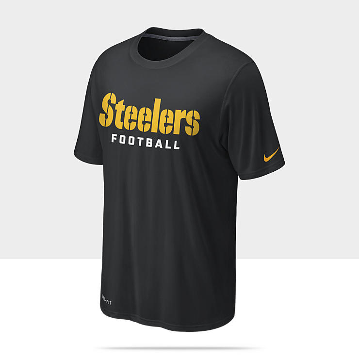 Nike Legend Authentic Font (NFL Steelers) Camiseta de entrenamiento - Hombre