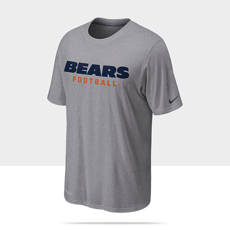 Nike Legend Font (NFL Bears) - Tee-shirt d'entra&icirc;nement pour Homme