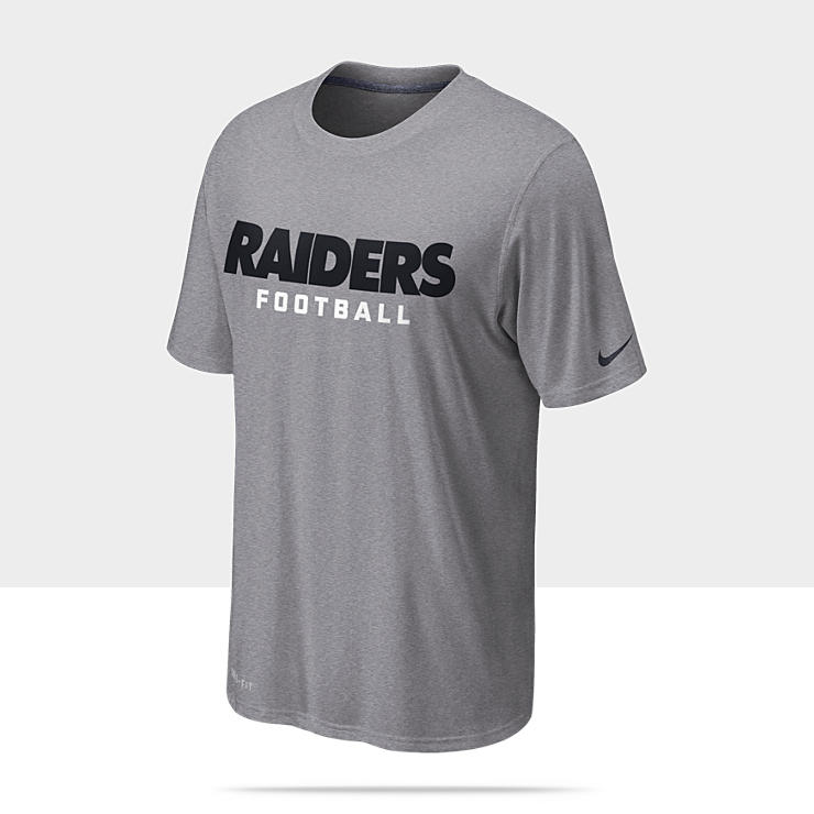 Nike Legend Font (NFL Raiders) - Tee-shirt d'entra&icirc;nement pour Homme