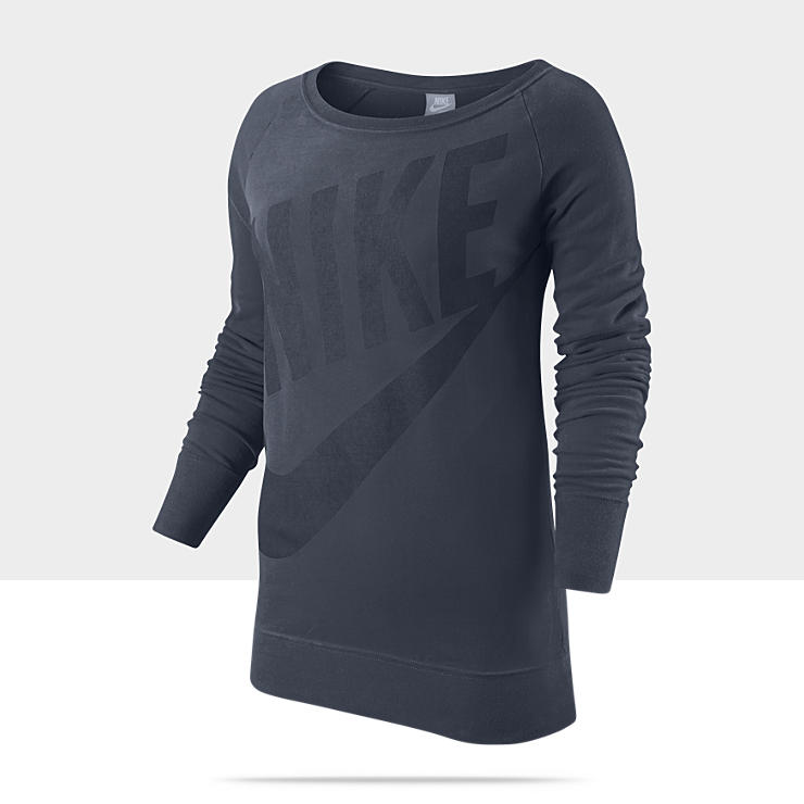 Nike Logo Long-Sleeve &ndash; Haut &agrave; manches longues pour Femme