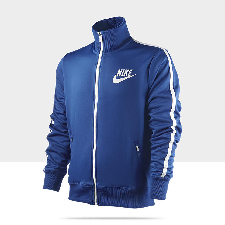 Nike Polyester - Veste de surv&ecirc;tement pour Homme