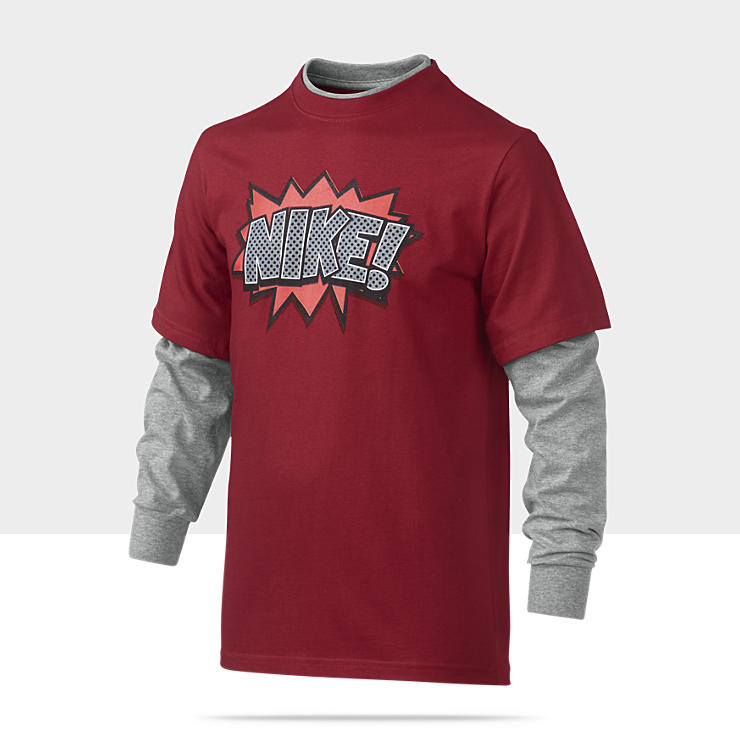 Nike Pow Two-In-One Camiseta - Chicos (8 a 15 a&ntilde;os)