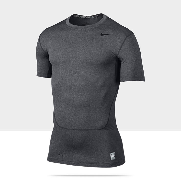 Nike Pro Combat Core 2.0 Compression &ndash; Haut &agrave; manches courtes pour Homme