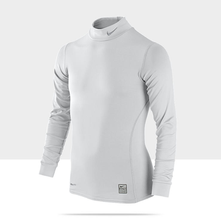 Nike Pro Combat Hyperwarm Compression Mock (8y-15y) Boys' Shirt