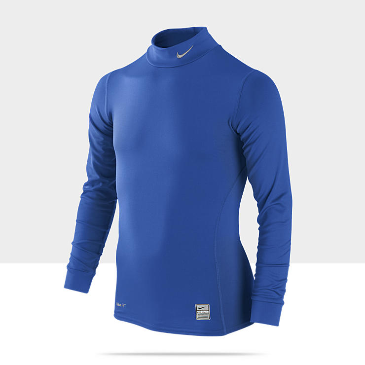 Nike Pro Combat Hyperwarm Compression Mock &ndash; Maillot pour Gar&ccedil;on (8-15&nbsp;ans)