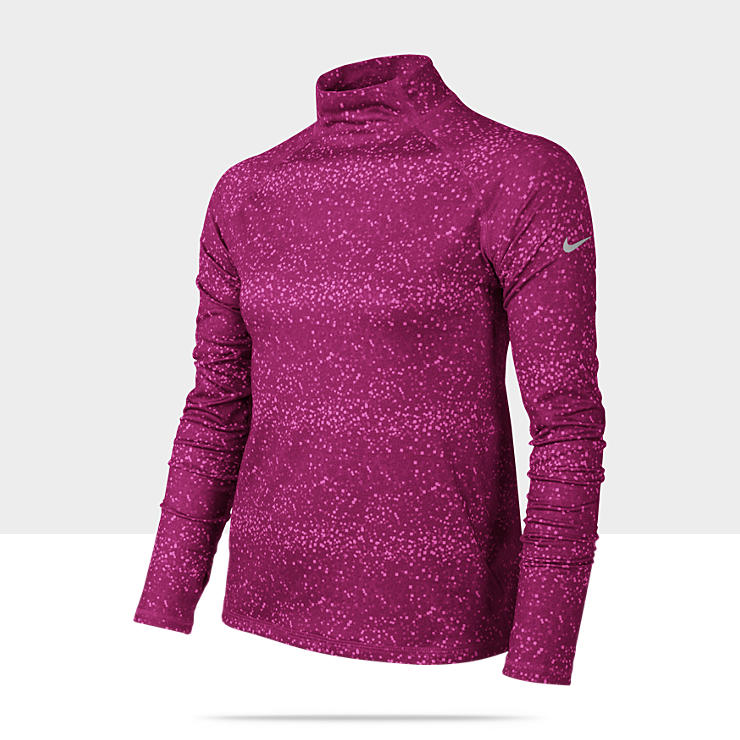 Nike Pro Graphic Hyperwarm Camiseta - Chica