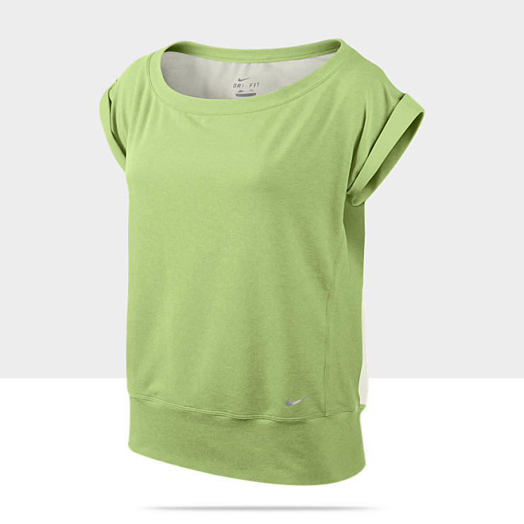Nike Short-Sleeve Epic Crew Camiseta de entrenamiento - Mujer