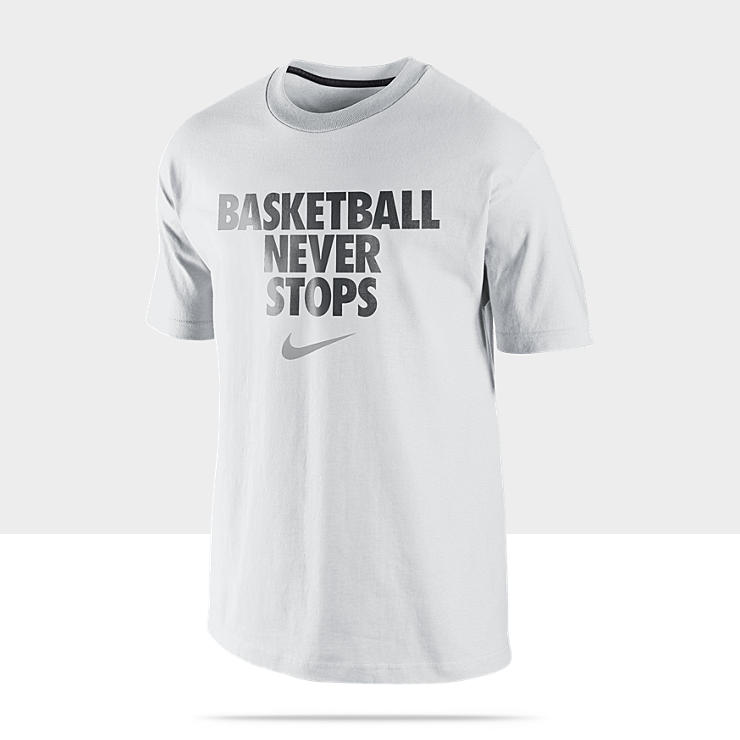 Nike &laquo;&nbsp;Basketball Never Stops&nbsp;&raquo; &ndash; Tee-shirt pour Homme