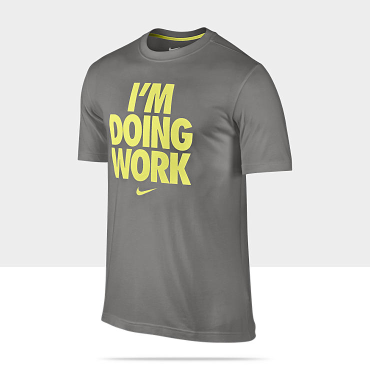 Nike « I'm Doing Work » – Tee-shirt de basket-ball pour Homme