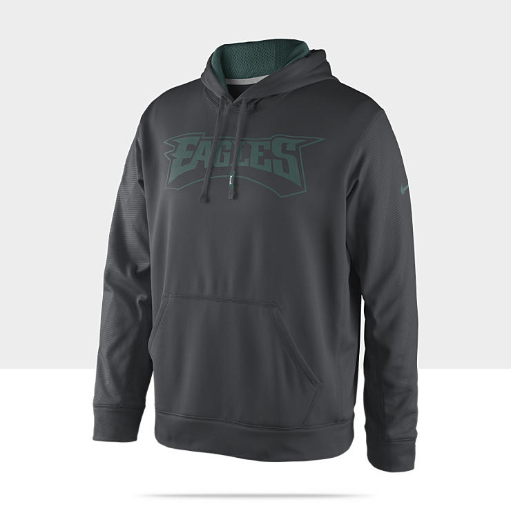 Sweat &agrave; capuche Nike KO Team Issue (NFL Eagles) pour Homme