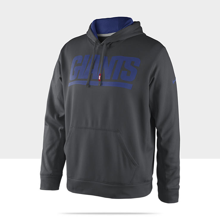 Sweat à capuche Nike KO Team Issue (NFL Giants) pour Homme