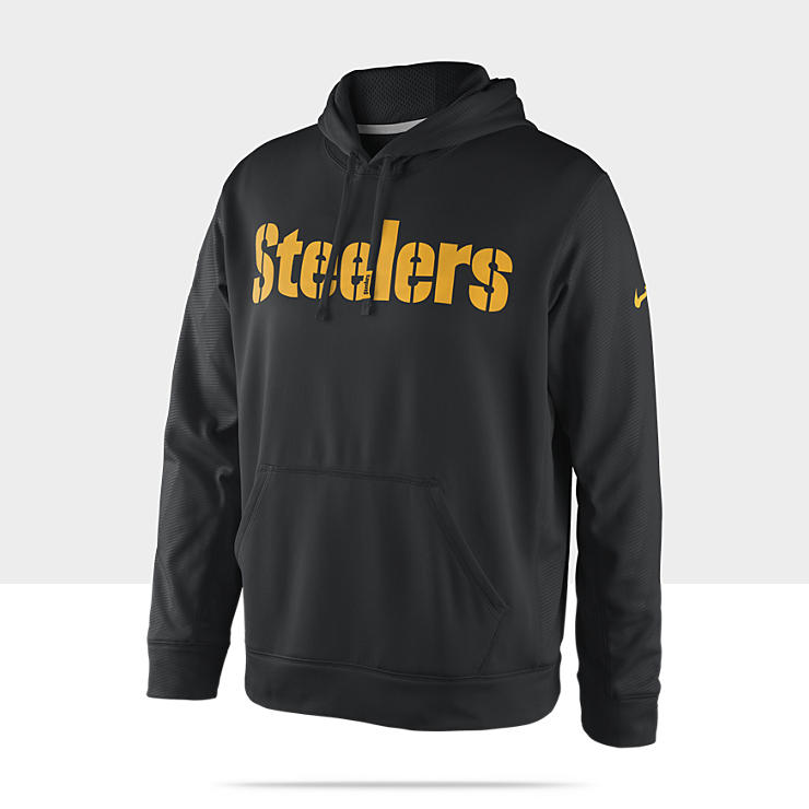 Sweat &agrave; capuche Nike KO Team Issue (NFL Steelers) pour Homme