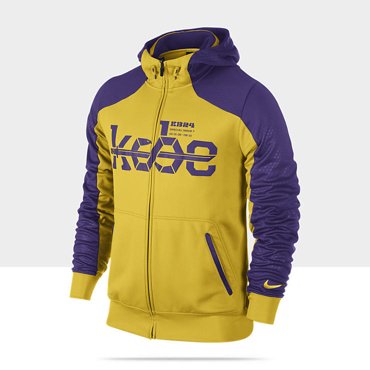 Sweat de basket-ball &agrave; capuche Kobe Prime Full-Zip pour Homme