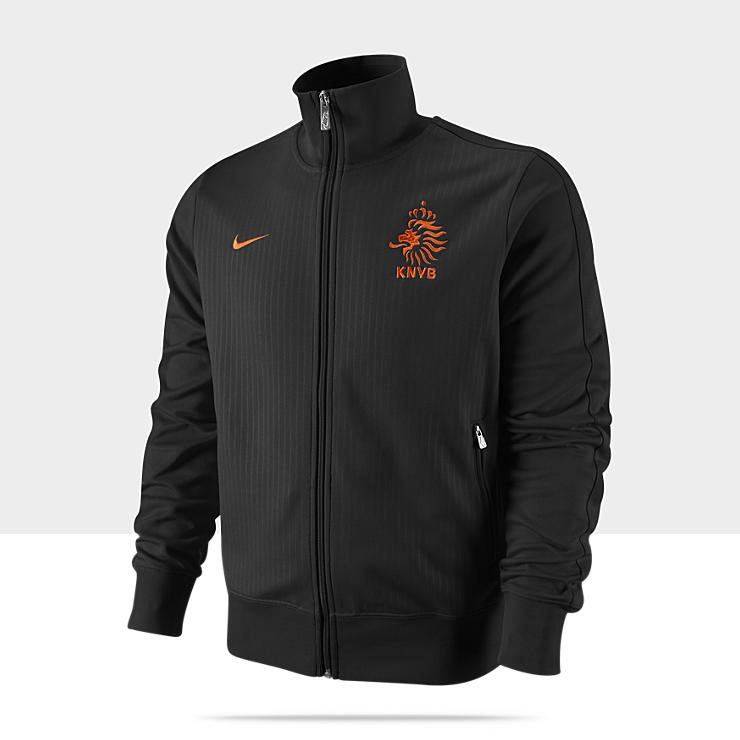 Netherlands Authentic N98 Chaqueta deportiva de f&uacute;tbol - Hombre