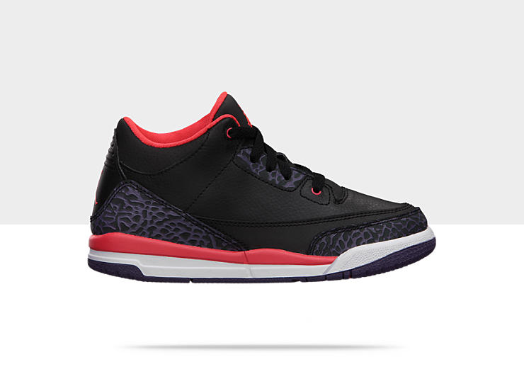 Chaussure Air Jordan Retro 3 pour Petit Gar&ccedil;on