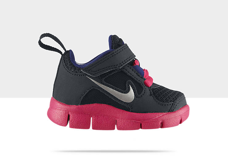 Nike Free Run 3 Infant/Toddler Girls' Running Shoe