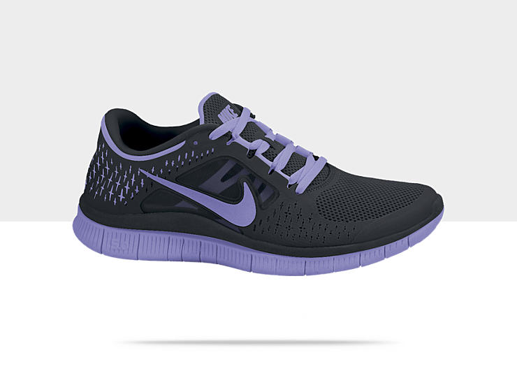 black nike free run 3 womens