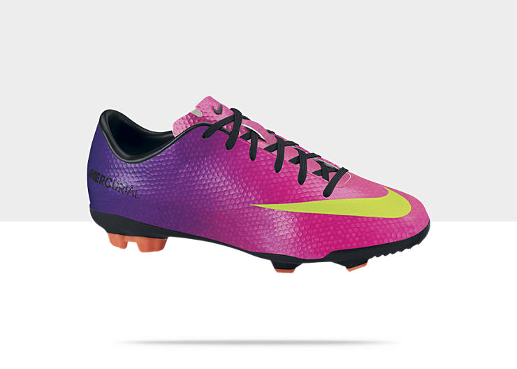 Nike Jr Mercurial Veloce &ndash; Chaussure de football sol dur pour Gar&ccedil;on