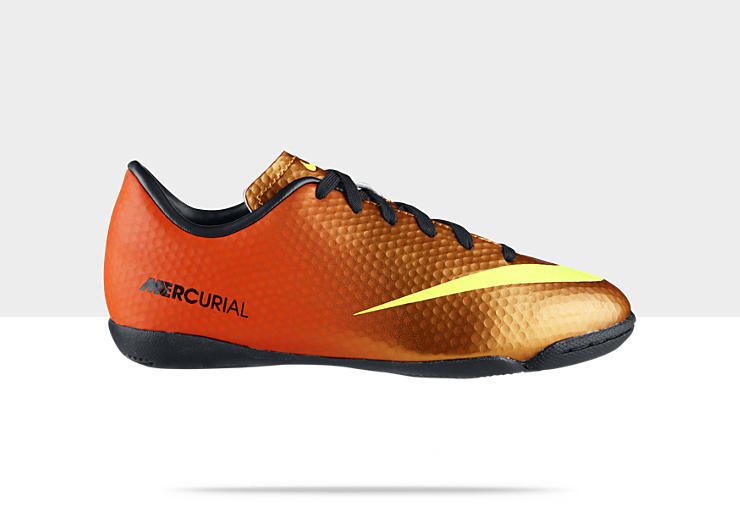 Nike Jr Mercurial Victory IV &ndash; Chaussure de football pour la comp&eacute;tition en salle pour Enfant