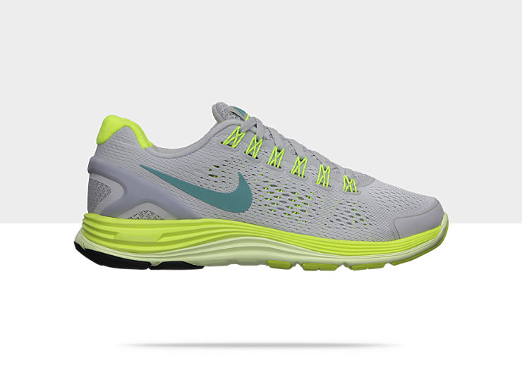Nike LunarGlide+ 4 &ndash; Chaussure de course &agrave; pied pour Femme