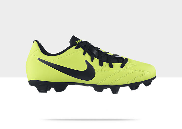 Nike T90 Shoot IV Firm-Ground – Chaussure de football pour sol dur pour Garçon