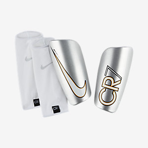 Football Shin Guards In Silver - Nike Store