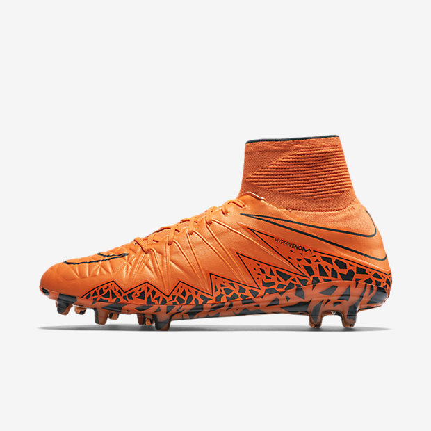 reputable site d07e9 c969a Nike Hypervenom Phantom II FG Orange total Orange brillant Cramoisi  ultime Orange total Référence   747213-888
