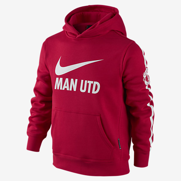 Manchester United Brushed-Fleece Pullover