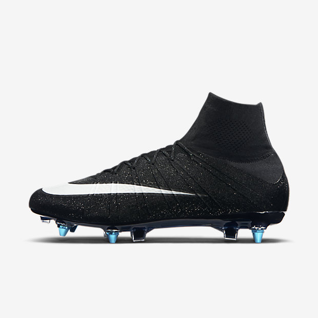 Black, Neo Turquoise, White Mercurial Superfly SG-PRO CR7