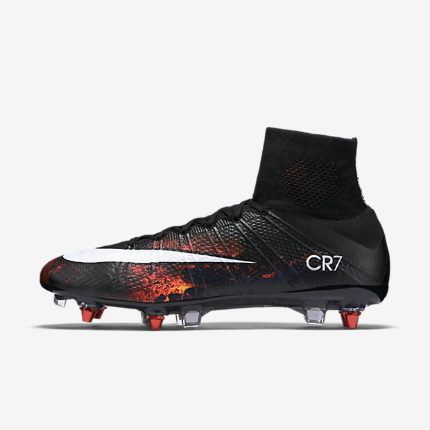 Black, Total Crimson, White Mercurial Superfly SG-PRO CR7