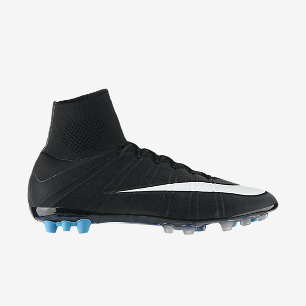 Black, Neo Turquoise, White Mercurial Superfly AG CR7
