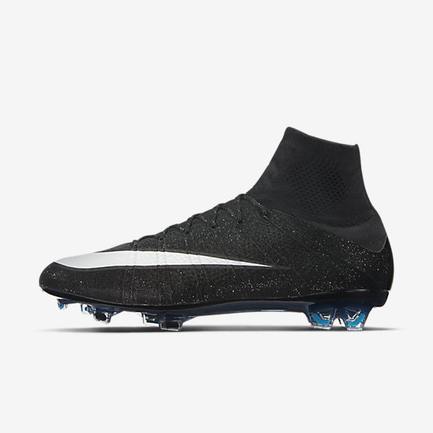 Black, Neo Turquoise, White Mercurial Superfly FG CR7