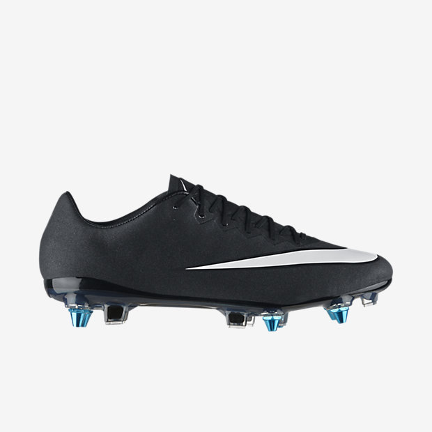 Black, Neo Turquoise, Space Blue, White Mercurial Vapor X SG-Pro CR7