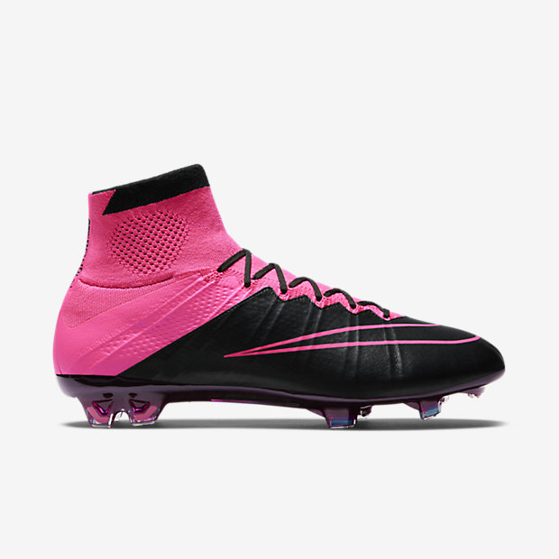Black/Hyper Pink/Pink Pow Mercurial Superfly Tech Craft Leather FG