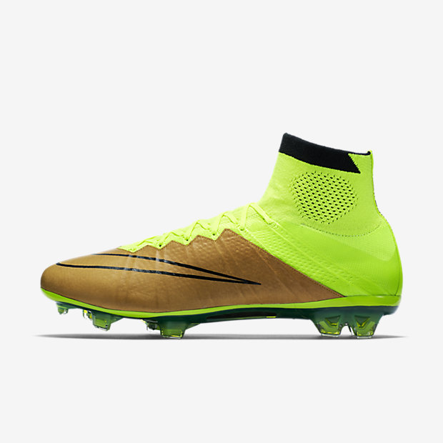 Canvas, Volt, Black Mercurial Superfly Leather FG