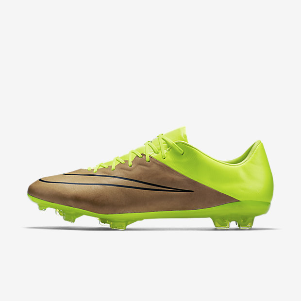 Canvas, Volt, Black Mercurial Vapor X Leather FG