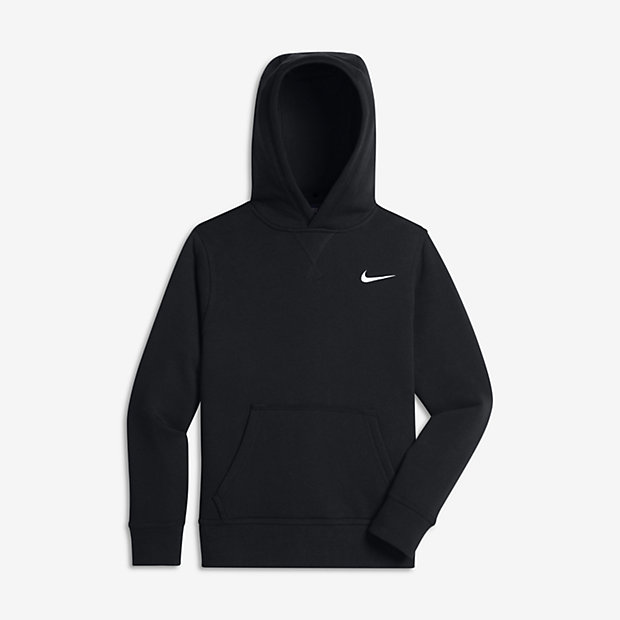 nike brushed fleece pullover 8y 15y boys 39 hoodie uk. Black Bedroom Furniture Sets. Home Design Ideas