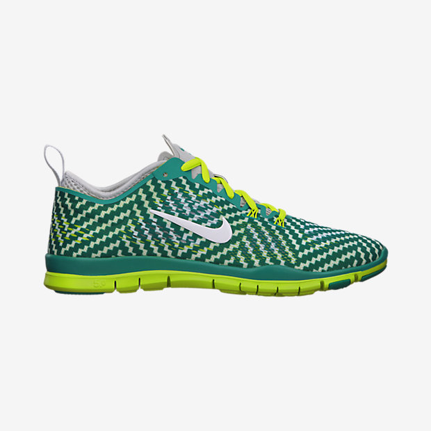 womens nike free 5 0 tr fit 4 print training shoes. Black Bedroom Furniture Sets. Home Design Ideas