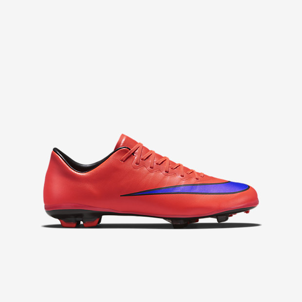 Bright Crimson, Persian Violet Kids Mercurial Vapor X FG