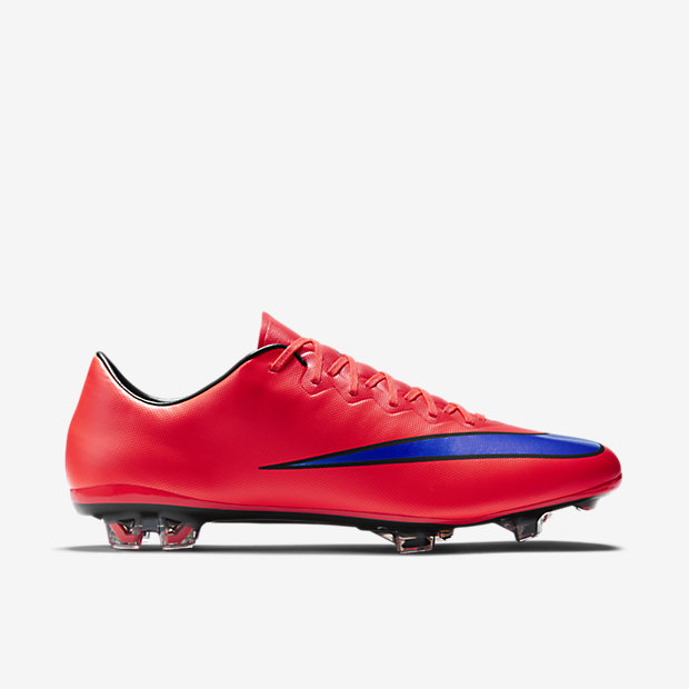 Bright Crimson, Persian Violet Mercurial Vapor X FG