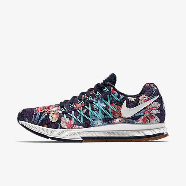 Nike Womens Air Zoom Pegasus 32 NWRS - White/Refelective Silver/Sunset Glow
