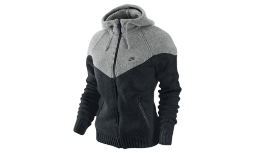 Sweat shirt en maille &amp224 capuche Nike Windrunner pour Femme 445280 010 A?wid500&amphei375&ampfmtjpeg&amp - Winter sweaters for woman
