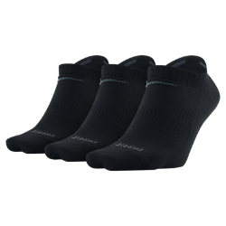 Nike Dri-FIT Non-Cushion No-Show Socks (3 Pair)