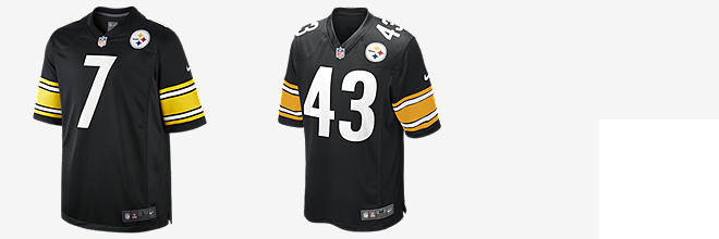 NFL Pittsburgh Steelers Game Jersey (Ben Roethlisberger)